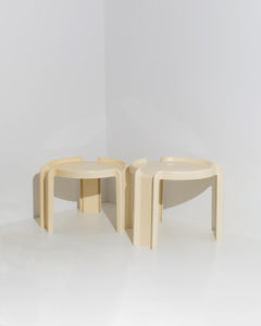 Giotto Stoppino nesting table set
