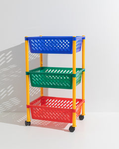 primary color trolley