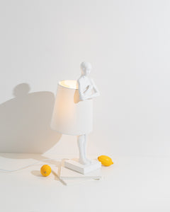 figurative table lamp