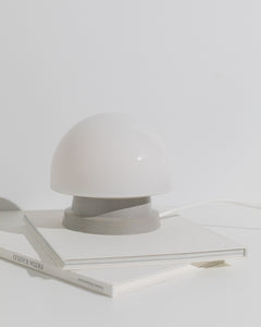 mushroom table lamp grey base