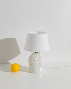 iridescent ceramic table lamp