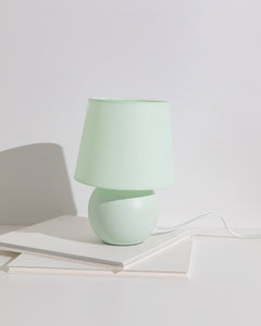 mint orb table lamp