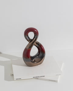 ceramic infinity sculpture