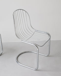 wire chair set