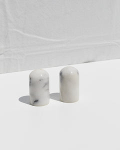 marble pepper & salt set