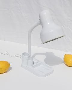 desk lamp with organizer