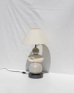 tall sculptural table lamp
