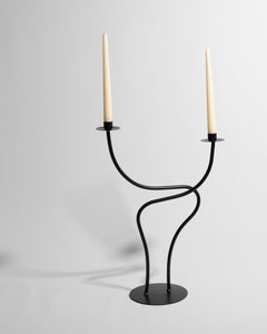 large sculptural candlestick