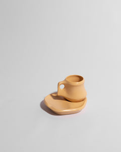 sculptural mug set