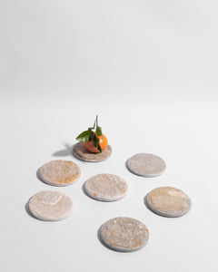 natural stone coaster set