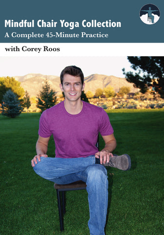 Mindful Chair Yoga: A Complete 45-Minute Practice (DVD)