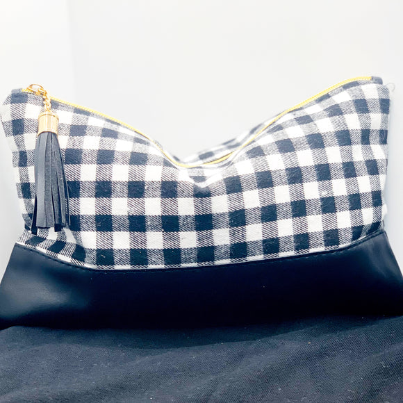 Buffalo Plaid Cosmetic Pouch