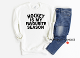 Hockey is My Favourite Season Crewneck