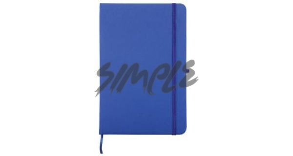 A5 With Pocket Calendar And Pen Holder Blue Book