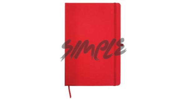 A5 With Pocket Calendar And Pen Holder Red Book