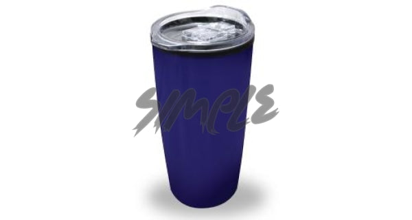 Double Wall Mug With Lid Blue Travel