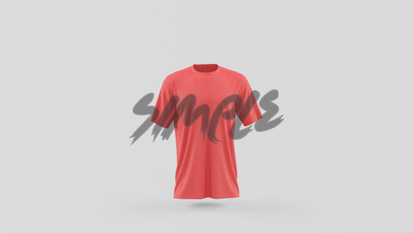 Half Sleeve T-Shirt - Men Small / Red T-Shirts