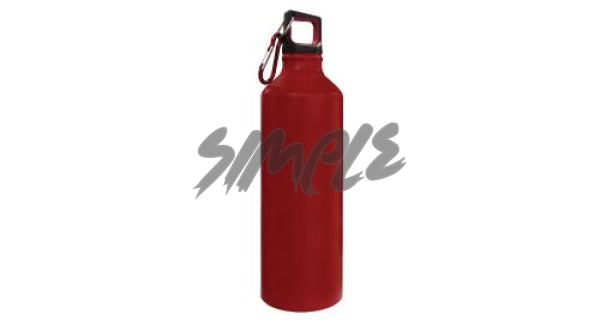 Stainless Steel Sports Bottle Red