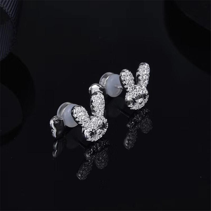 Cute Temperament Rabbit Stud Earrings