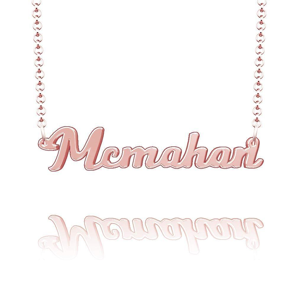 18K Gold Plated Personalized Necklace With Name