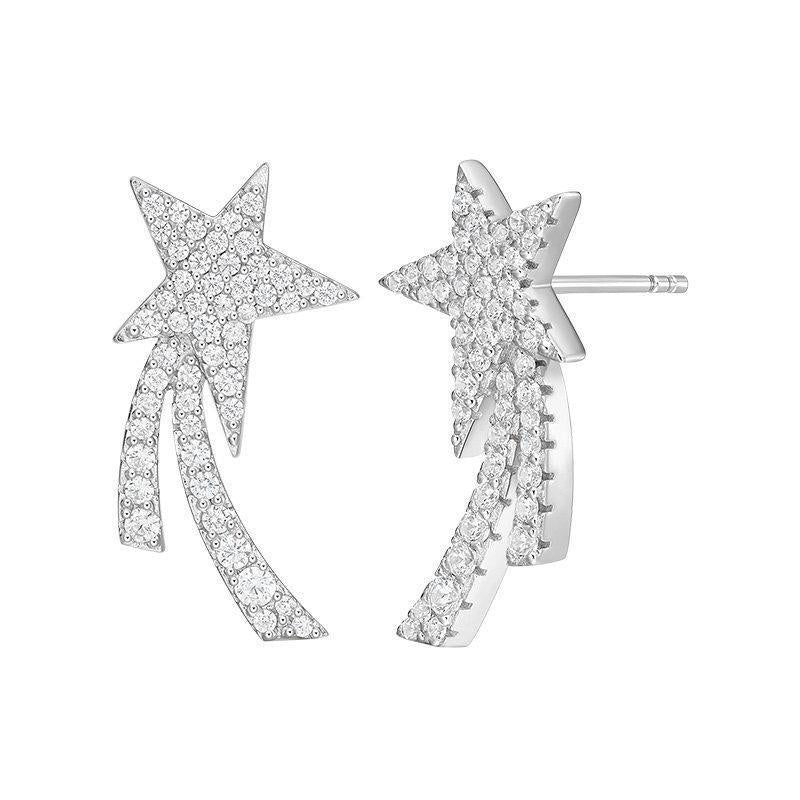 Irregular Star Stud Earrings