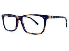 Matt Tortoise Leopard Blue Light Filter Glasses Solens Australia