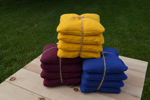 Cornhole Bags - 12oz Duck Cloth - Whole Kernel Corn Filled