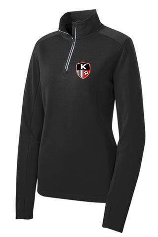 KYSA Ladies Quarter Zip