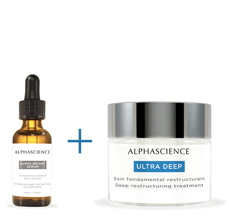 DUO ALPHA BRIGHT SERUM 20ML + ULTRA DEEP 50ML