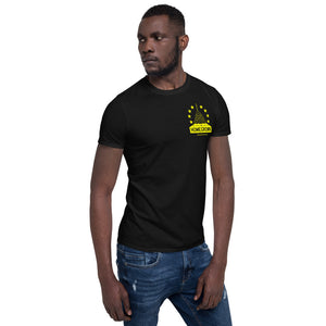 Black and Yellow HG Unisex T-Shirt