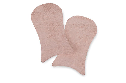 Suede Toe Caps For Pointe Shoes