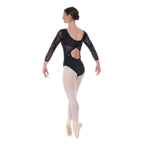 Tappers & Pointers Elegance Collection Cotton And Lace Leotard ELE/1