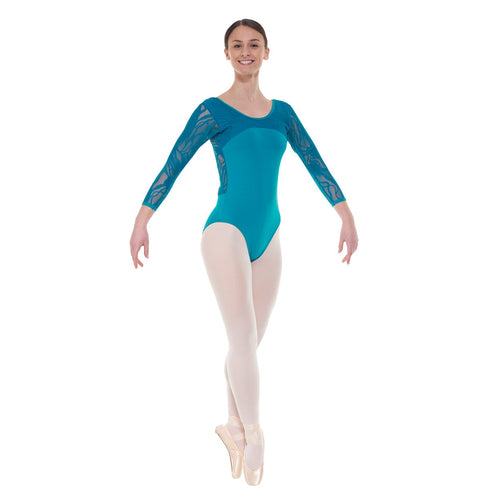 Tappers & Pointers Elegance Collection Cotton And Lace Leotard ELE/2