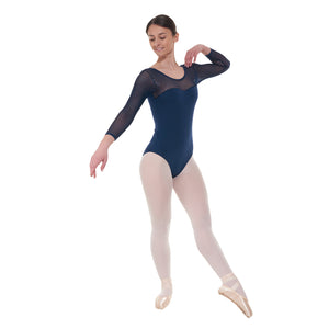 Tappers & Pointers Elegance Collection Cotton And Twinkle Net Leotard ELE/6