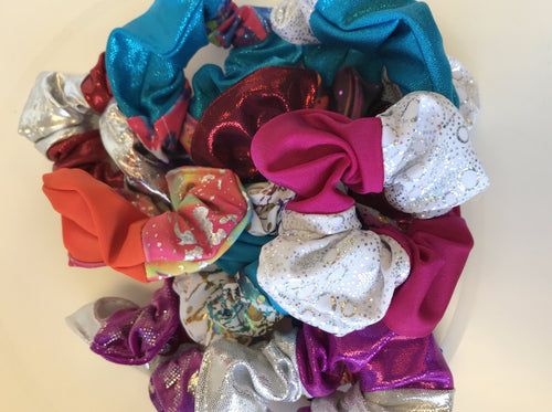 Brightly Coloured Scrunchies