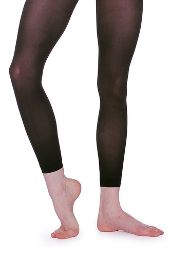 Roch Valley LSH40 Sheer Black Full Length Leggings