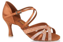 Load image into Gallery viewer, Freed PALOMA Ladies Latin Sandal With Swarovski Crystals