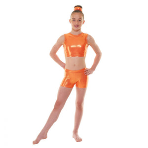 Tappers & Pointers Gymnastics Shine Micro Shorts