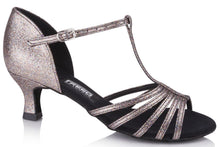 Load image into Gallery viewer, Freed TINA MULTI STARDUST Ladies Social Ballroom Shoe