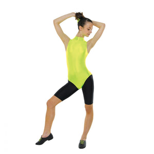 Tappers & Pointers Sleeveless Turtle Neck Nylon Lycra Leotard