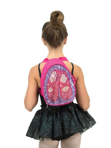 Capezio Reversible Glitter Back Pack