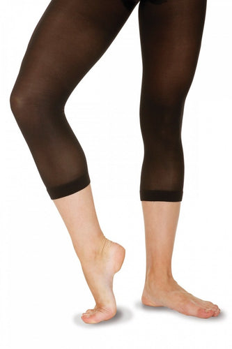 Roch Valley SH40 Sheer Black Calf Length Leggings