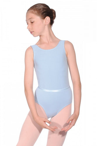 Roch Valley Cotton Sleeveless Leotard With Matching Belt