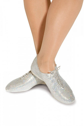 Roch Valley Silver Hologram Jazz Shoe