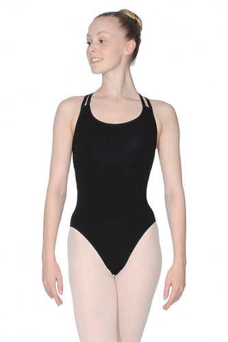 Roch Valley SOPHIE Double Strap Cross Over Back Leotard
