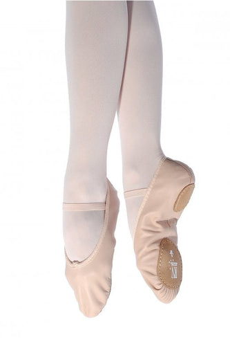 Roch Valley Split Sole Leather Ballet Shoe
