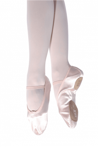 Roch Valley Split Sole Satin Ballet Shoe