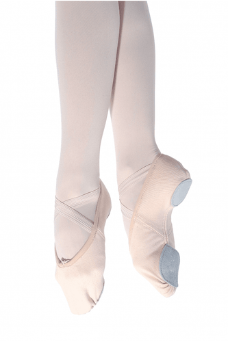 Roch Valley Stretch Canvas Split Sole Ballet Shoe