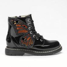 Load image into Gallery viewer, Lelli Kelly FAIRY WINGS LK6540 Black Ankle Boots