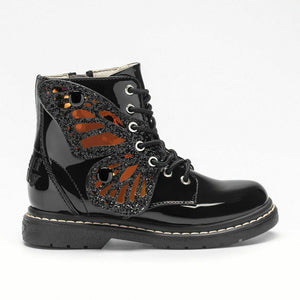 Lelli Kelly FAIRY WINGS LK6540 Black Ankle Boots